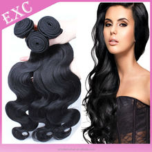 Full cuticle unprocessed raw The high quality european hair wholesale by alibaba