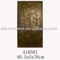 2012DACOR SELL WELL- Crystal tree metal wall plaque