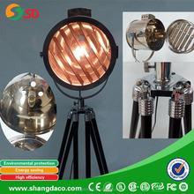 STEEL FLOOR LAMP as STANDARD WITH STEEL SHADE