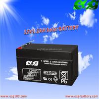 12v1.2ah solar battery Dry battery sealed lead acid battery