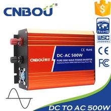 Sistema solar 500w inversor de DC a AC