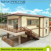 Different styles functional prefabricated house in philippines
