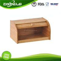 Top Quality SEDEX Approved Good Prices Bamboo Bread Bin