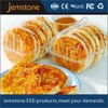 Biodegradable clear plastic food box for cookie/biscuit packaging