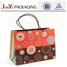 top sale new design wholesale elegant elegant colorful kraft shopping bag/carrier bags
