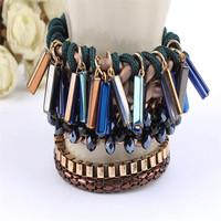 Hot selling japanese magnetic bracelet for 2015 handmade bio magnetic bracelet in bulk