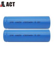 18650 3.2v Lifepo4 Battery Cell 1500mAh