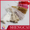 Colorful decorative Polyester small tassel for curtain