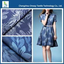 Hot Sale! Combed Blue Black Light Weight Twill 100% Cotton denim fabric stock lot