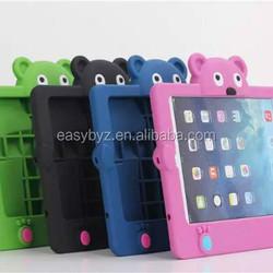 Good quality case for ipad mini, for ipad mini eva case, for silicone ipad mini bear design case