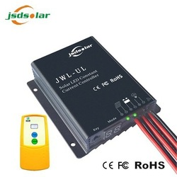 Infrared beacon remote control 15a 24v pwm solar power regulator