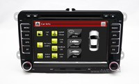 VW PASSAT AUTO RADIO ORIGINAL NAVIGATION RNS510 RCD510 with touch screen IPAS OPS Door open AC display