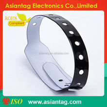 Contactless PVC Disposable RFID Wristband for Events,hospital
