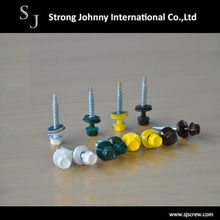 Taiwan Best Quality Head Coating Steel Roofing Screw Self Drilling Screw
