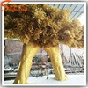 hot new products for 2015 factory cheap large outdoor artificial fake plastic golden wedding wishing decorative big trees