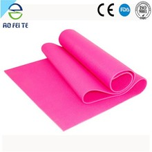 best sellers of 2015 folding gym multi color printed yoga mat private label