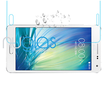 Brand Nuglas Cell Phone / Mobile Phone Premium tempered glass screen guard for Samsung galaxy A7 OEM ODM