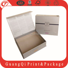 New arrival customized cardboard box&package box & book box for package