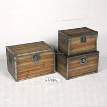 2015 NEW!!! S/3 antique storage trunks