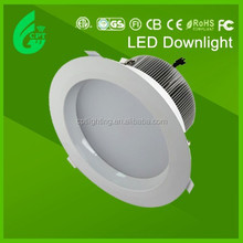 CE RoHS SAA led lights for recessed down lights 12W 15W led downlight with 125mm cut out