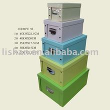 Foldable gift paper packaging box