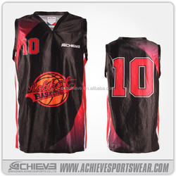 NEW design for club Basketball singlets/jersey basketball tops basketball uniform