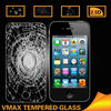 Wholesale Shatterproof Waterproof Removable Mobile Phone LCD monitor 9H Asahi tempered glass screen protector for iPhone 4 4s