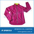 2013 Nuevo diseño Chaqueta para correr livianos , 100% poliéster chaqueta de running, chaqueta de correr al aire libre