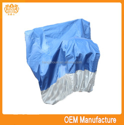 double colour 190T polyester motocycle cover rain poncho for motorcycle,windproof motorcycle cover fabric at factory price