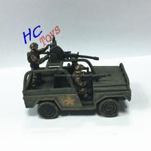 ของเล่นพลาสติกทหารสงครามโลกครั้งที่ปรับ, พีวีซีร่างทหารกองทัพรถหุ้มเกราะที่มี