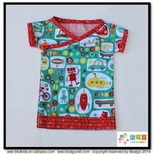 BKD impreso de algodón para poleras bebes