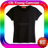 100 cotton t shirt blank stretch cotton t shirt for promotion/running/sports/election compaign t shirt
