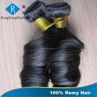 Cheap Double Drawn Real Hair 100% Remy Romance Curl Human Hair