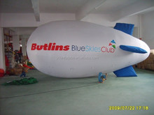 OEM customized 8mL white inflatable blimp with logo