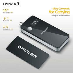 15W E cig E power 3 battery for promotion Original Epower 3 manufacturer