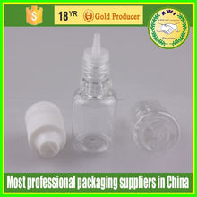 shrink wrap for 15ml bottle eliquid plastic dropper bottle