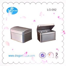 Manufacturer from China plain empty custom Perfume tin boxes