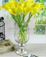 2014 cheap wholesale artificial plastic flowers artificial calla lily wedding bouquet for sale ,artificial flower mini bouquet