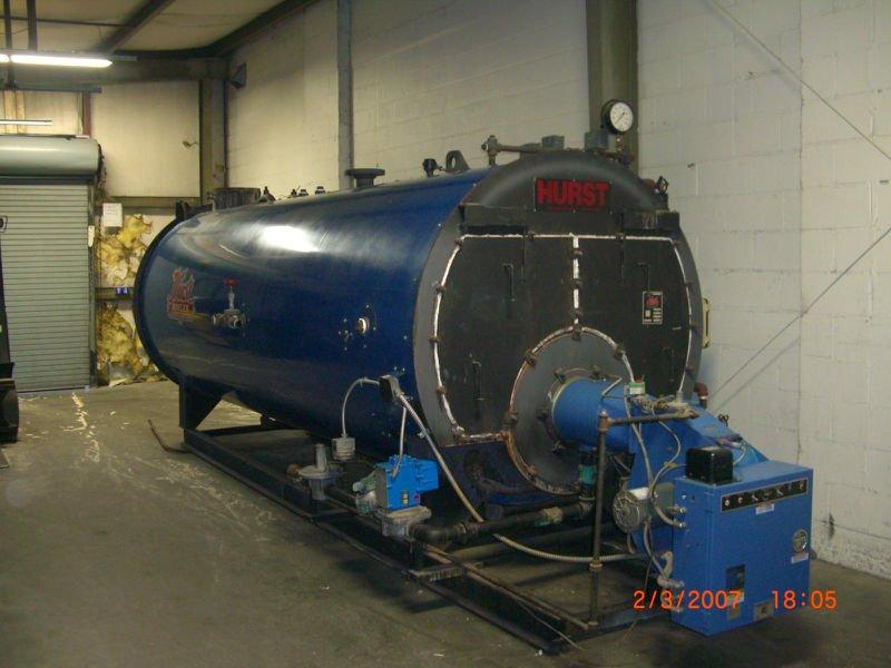 Manual companion 150 hp vapor de la caldera