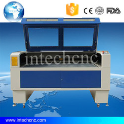 Shandong Jinan low price Intechcnc 1610 low cost laser cutting machine for wood,leather,marble,acrylic,plywood,metal