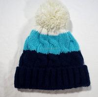 new style womens wool blended yarn warm beanie hat