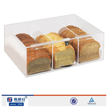 YAGELI manufacturer lucite candy bin for sale,clear sweet food/candy acrylic display cases