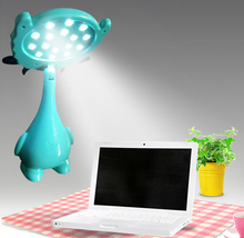 2015 Newest Rechargeable Lamps Learning Eye Reading Lamp Creative Cartoon Gift
