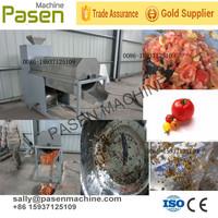Stainless steel golden supplier date tomato seeds remover / fruit deseeder machine