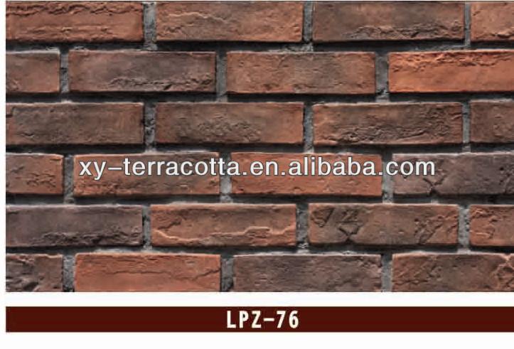 exterior wall artficial brick faux stone wall brick tile