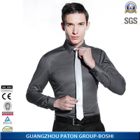 stylish slim fit mens shirt in factory price by China biggest apparel manufacturer