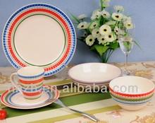 Popular Chinese handcrafted wholesale ceramic dinnerware