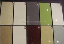 grazioso controsoffitto della cucina utilizzare artificiale foglio di pietra di quarzo