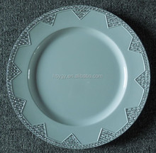 "Disposable 13"" plastic plate (SGS Certification)"