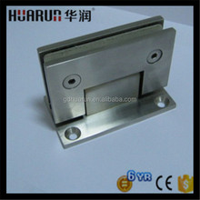 Solid frameless pool fence hinges for 8-10mm or 10-12mm glass